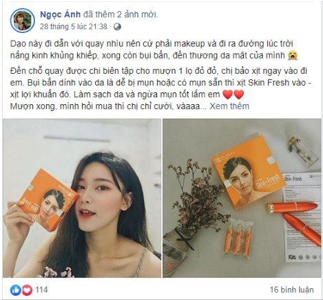 review skin fresh
