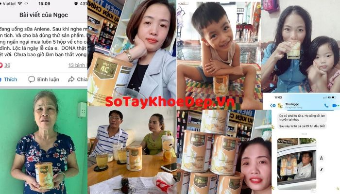 review Sữa Nghệ Dona